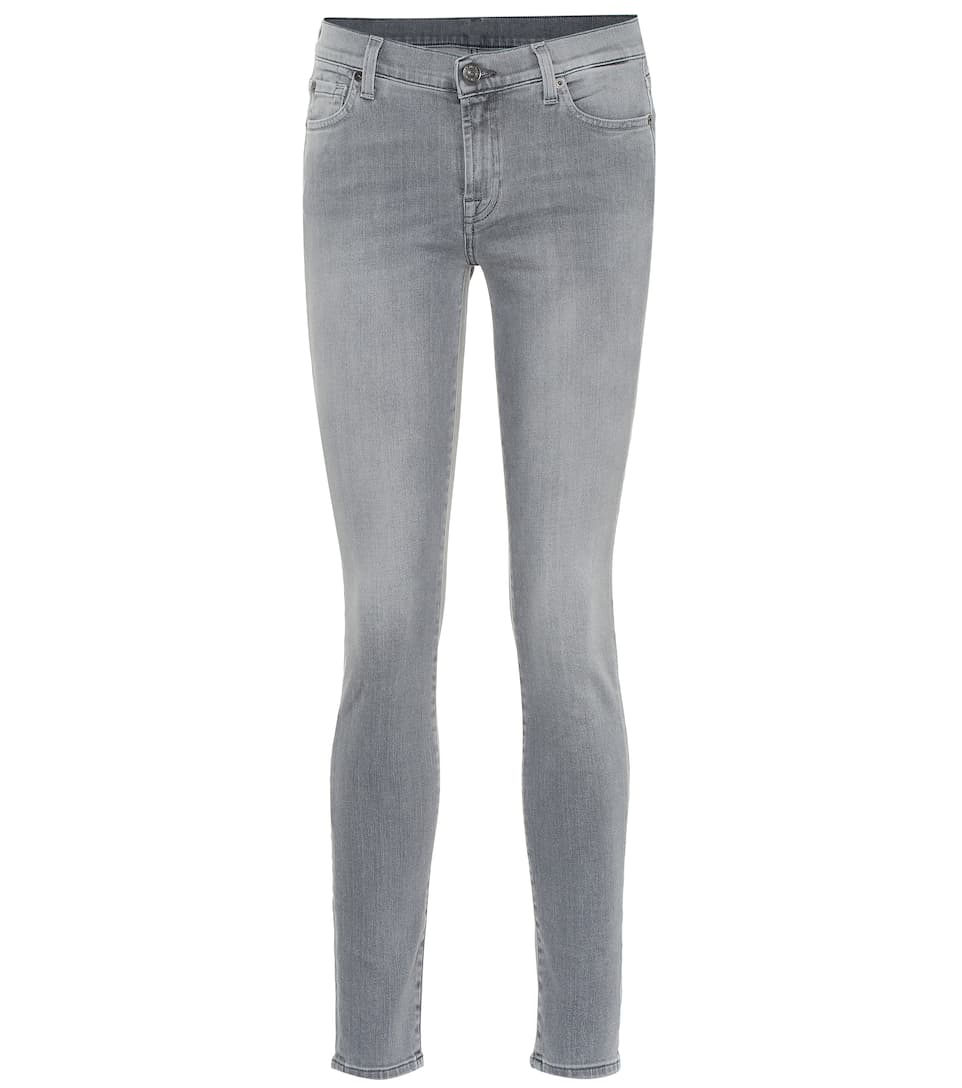 Basse Skinny For All Taille Jean The 7 Mankind À Nn0wOvmy8