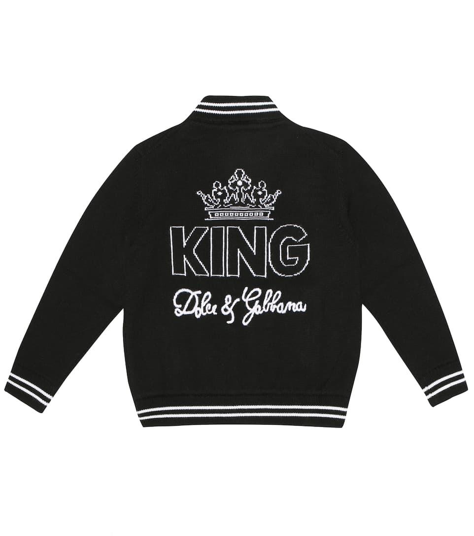 e10064ca8 Dolce & Gabbana Kids - Wool bomber jacket | Mytheresa