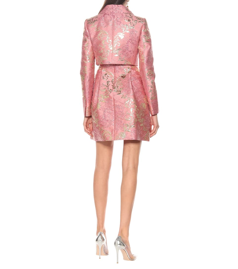 Dolce & Gabbana - Brocade cropped jacket