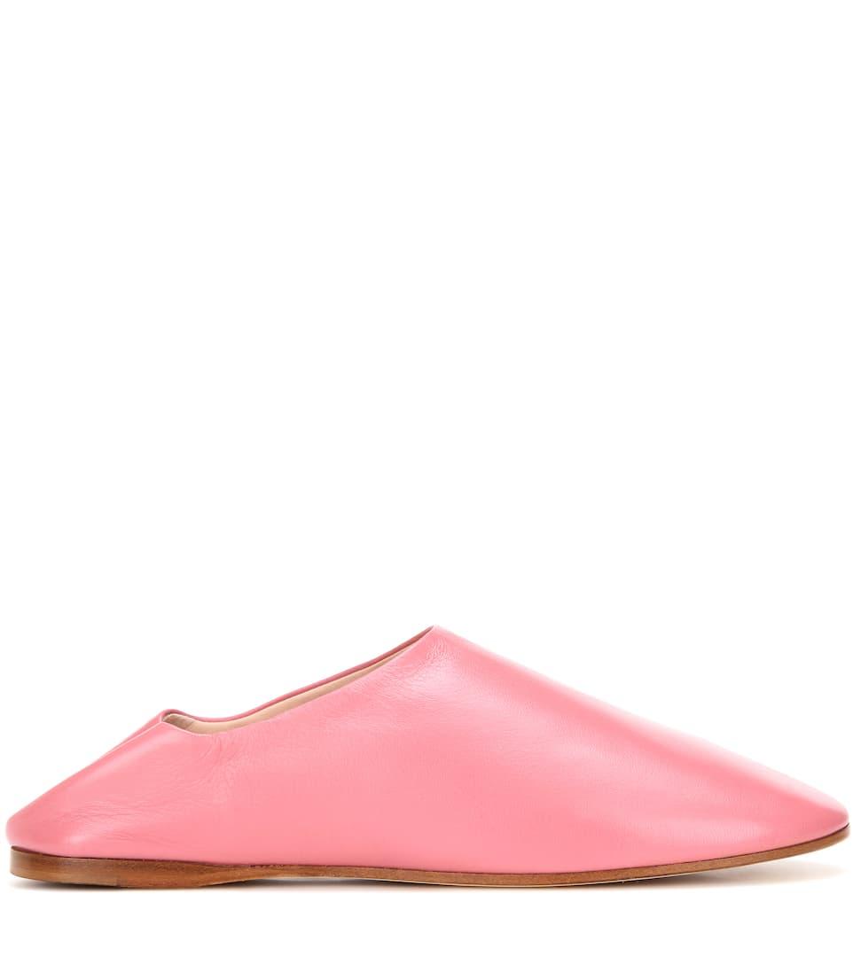 ACNE STUDIOS Leathers Agata leather slippers