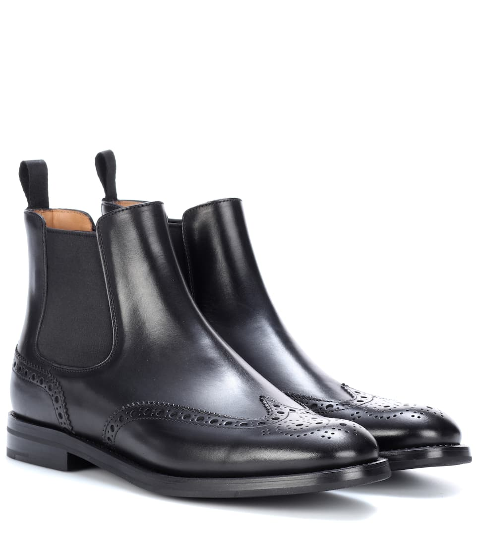 Church's Chelsea Boots aus Leder