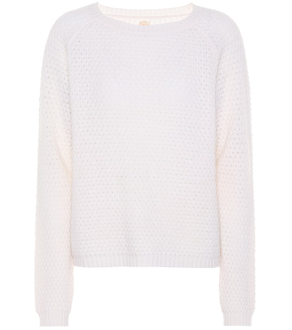 Wool And Cashmere Sweater by Jardin Des Orangers