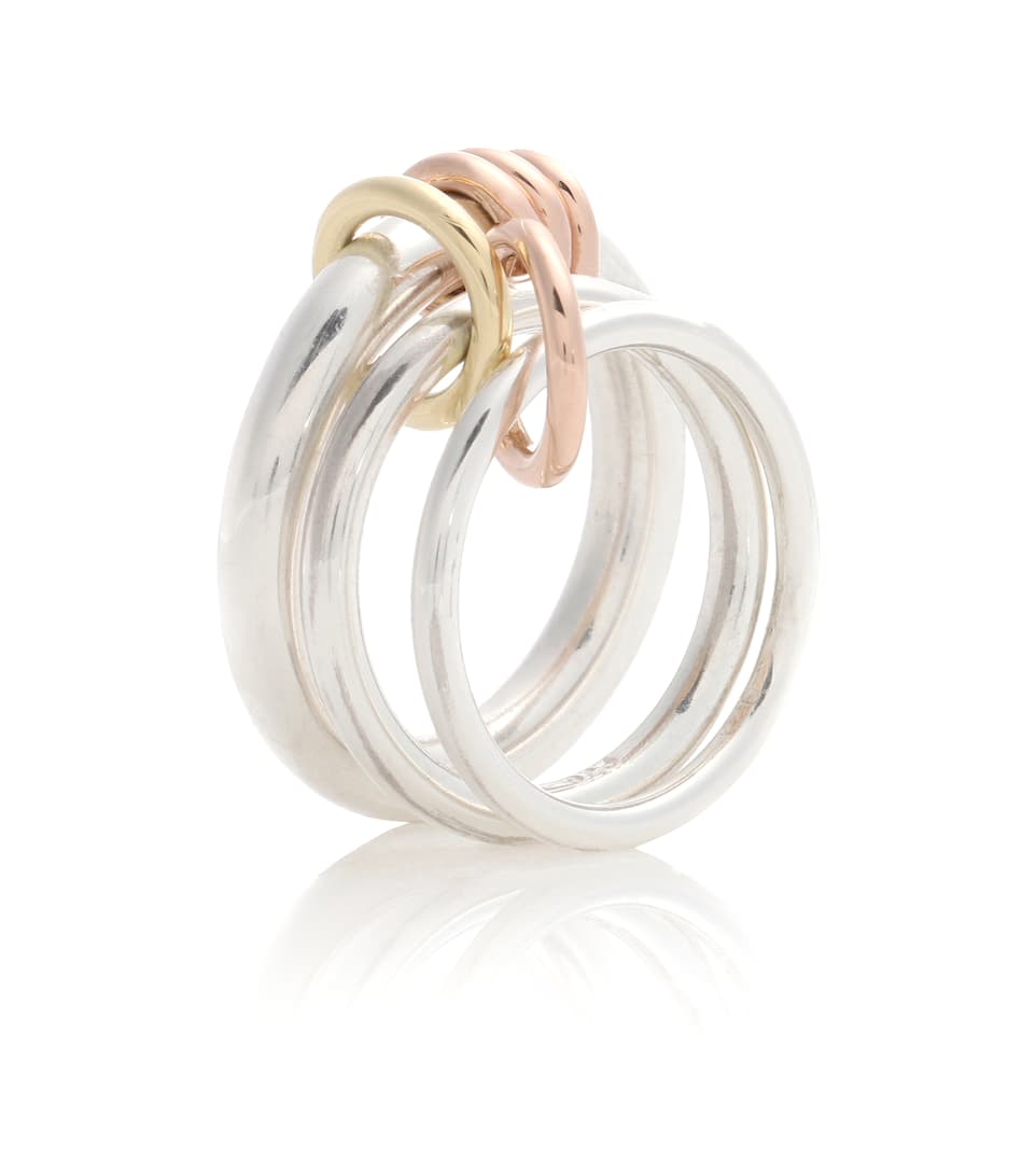 Bague En Or 18 Ct Et Argent Sterling Orion - Spinelli Kilcollin