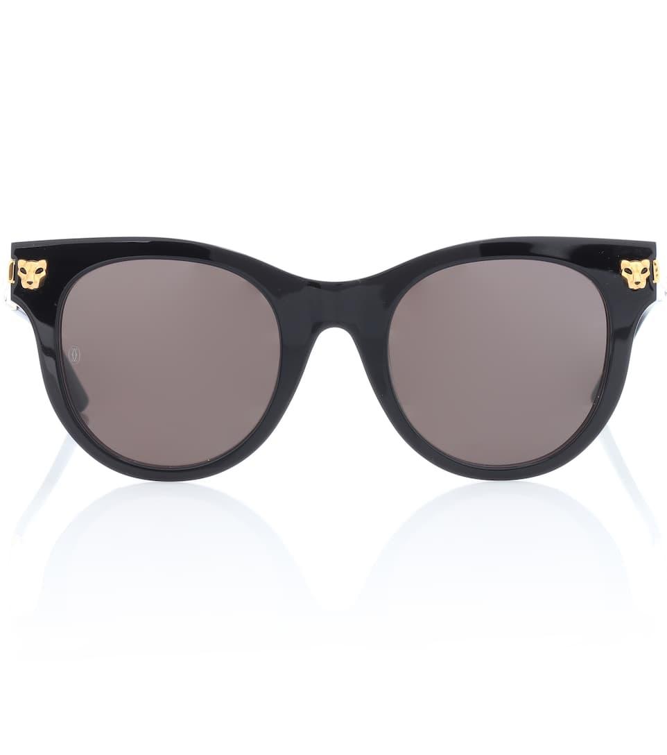 Vente Pas Cher À La Mode En Ligne Vente Chaude Cartier Eyewear Collection - Lunettes de soleil Panthère de Cartier Le Plus Récent En Ligne Pas Cher En Gros Acheter Sortie FAiE3wybf
