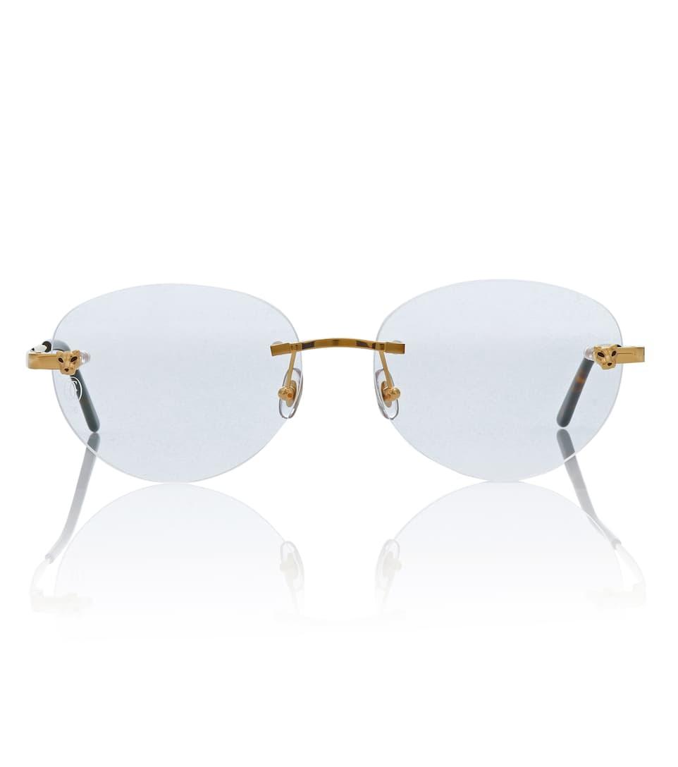 94a8477a27db Panthère De Cartier Glasses - Cartier Eyewear Collection
