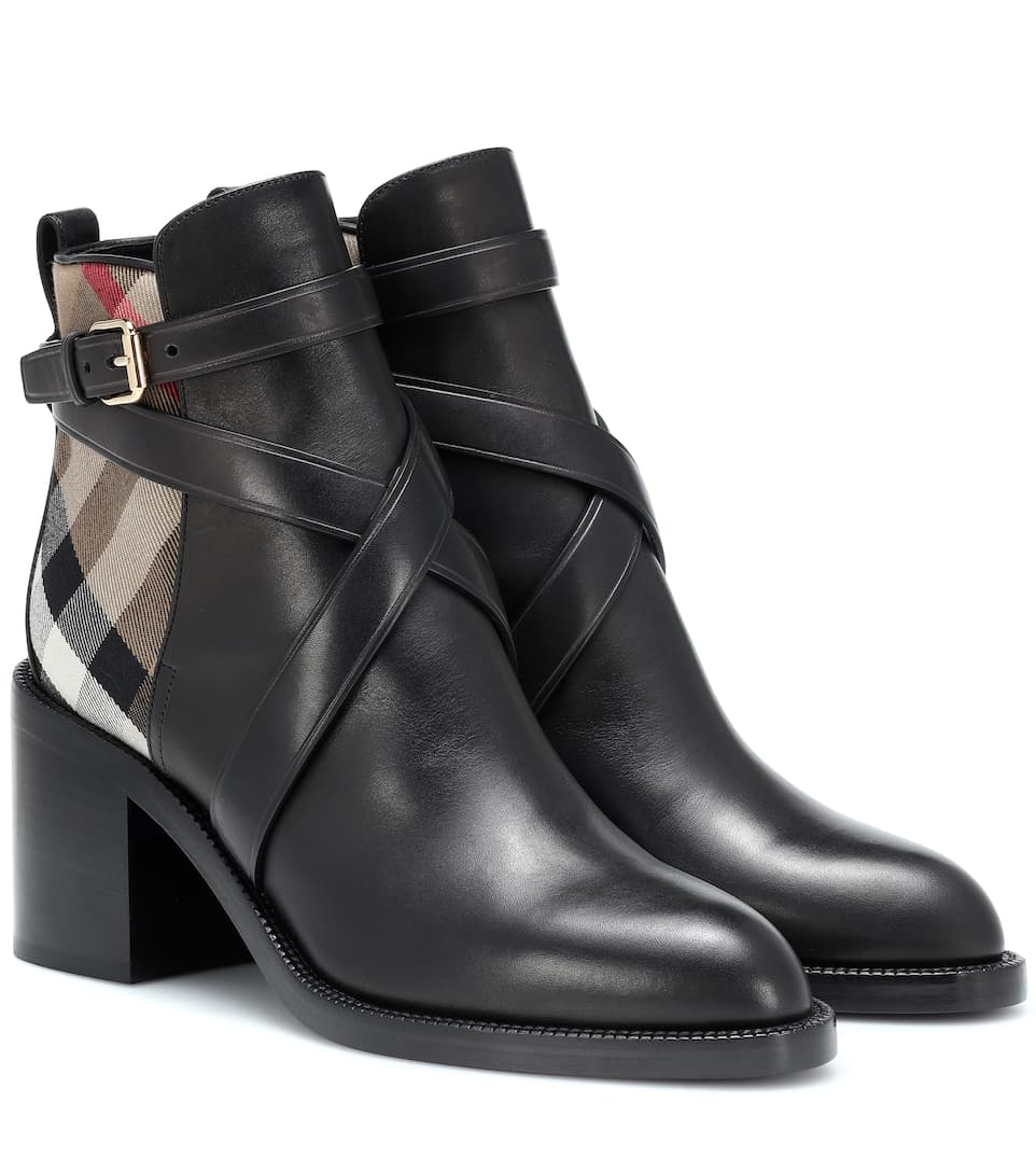 d9eababbed9 Leather Ankle Boots - Burberry
