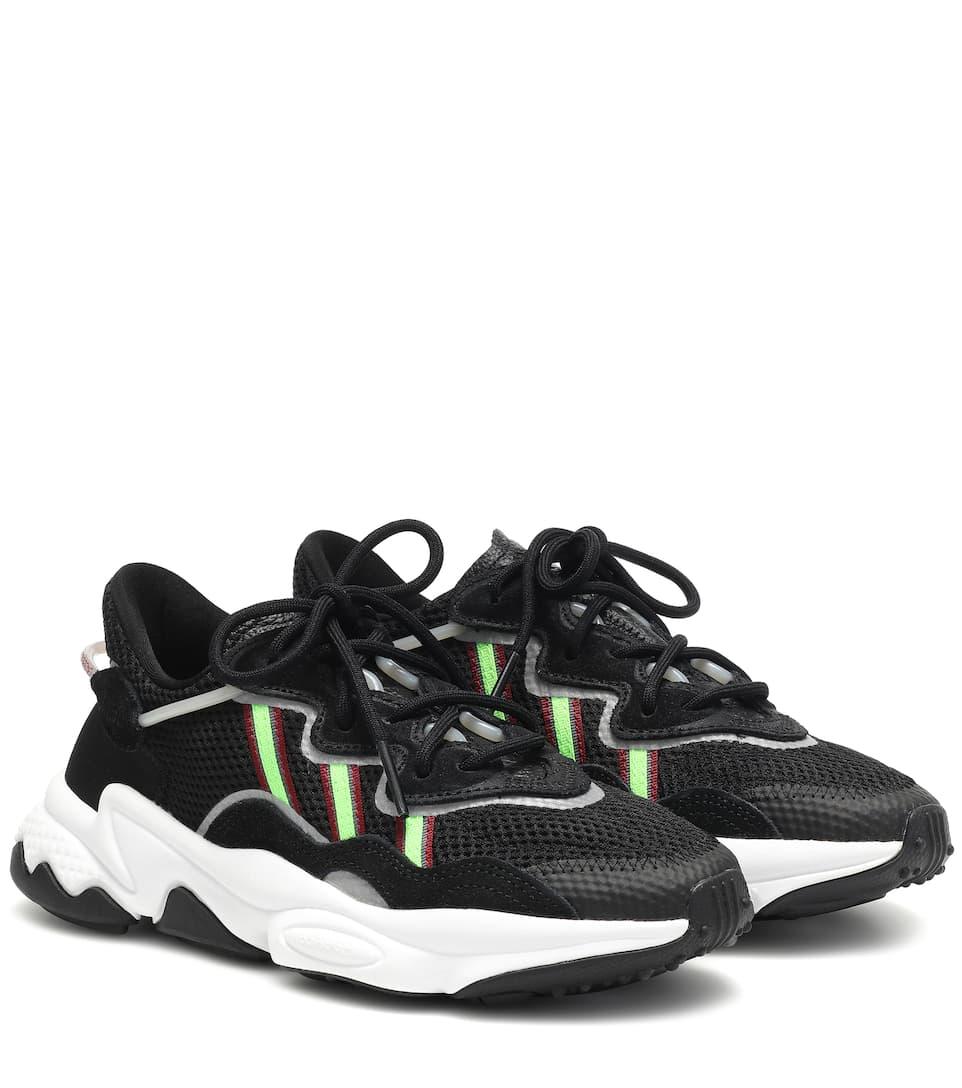 Ozweego mesh sneakers
