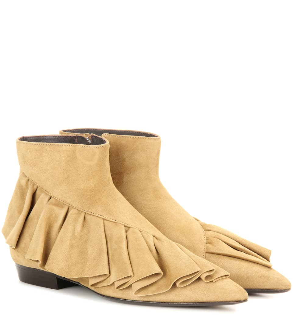 J.W.Anderson Suede flat shoes