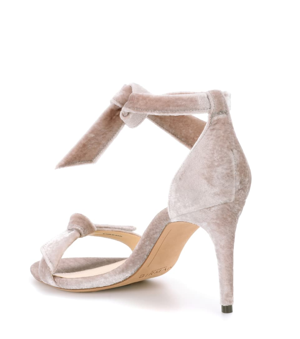 Alexandre Birman Sandaletten aus Samt