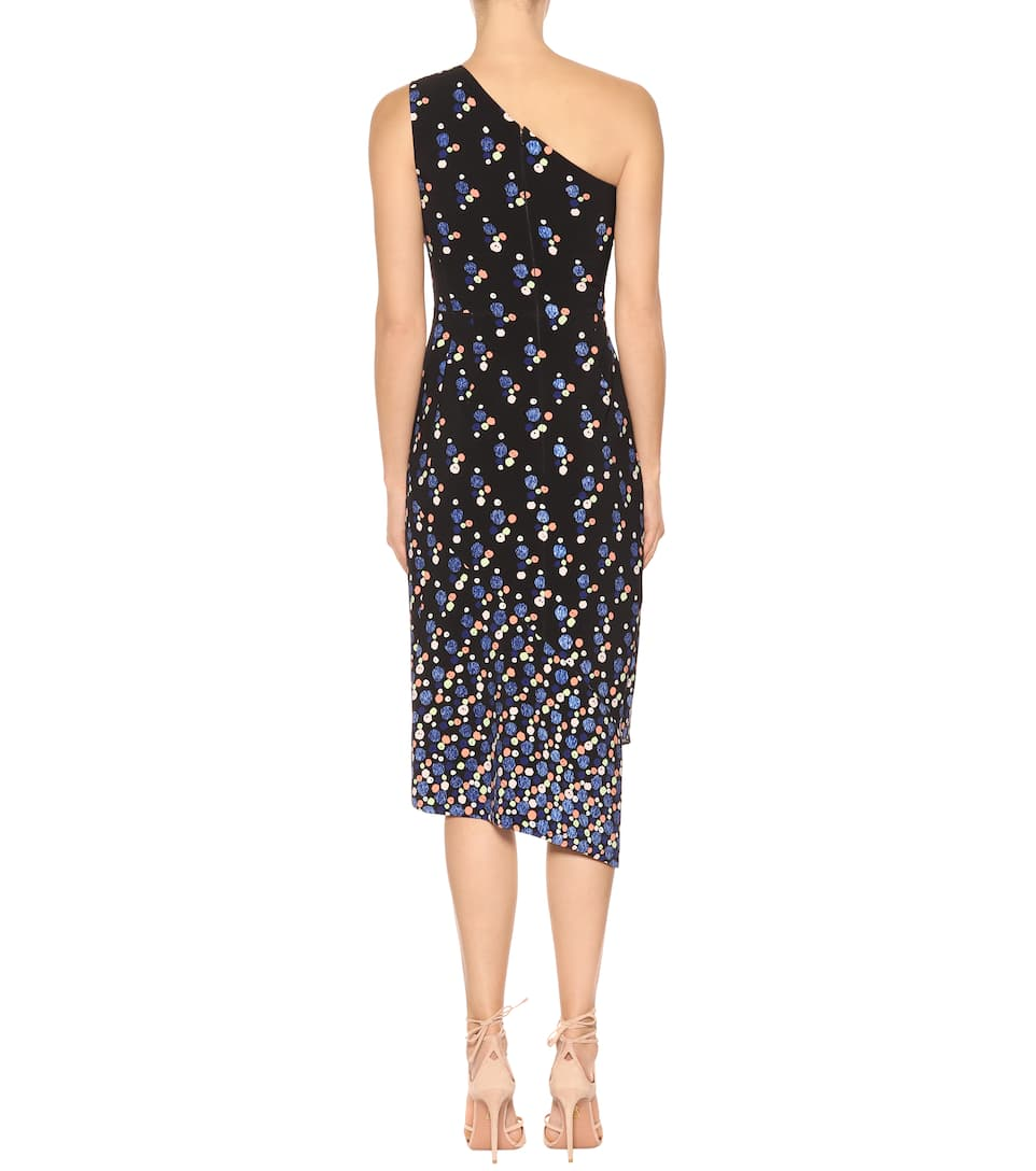 Peter Pilotto Dress Asymettrisches Cady From Crêpe