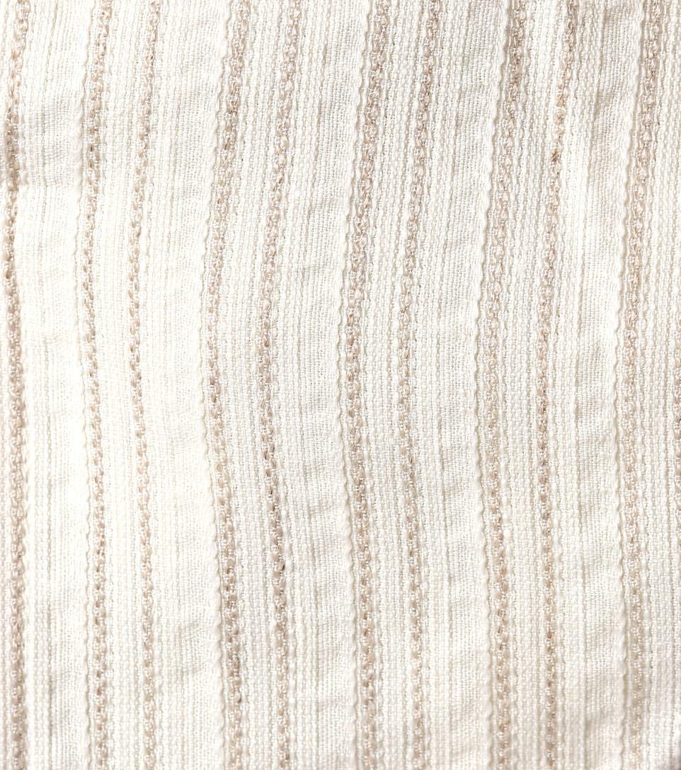Jacquemus Asymmetrische Bluse aus Leinen und Baumwolle Neue Ankunft Günstiger Preis Angebote Online Geniue Händler Verkauf Online Freies Verschiffen Neue Stile Outlet Limitierte Auflage 6HhaeeoGcC
