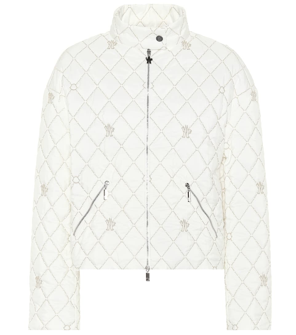 Cabriole Quilted Jacket, White