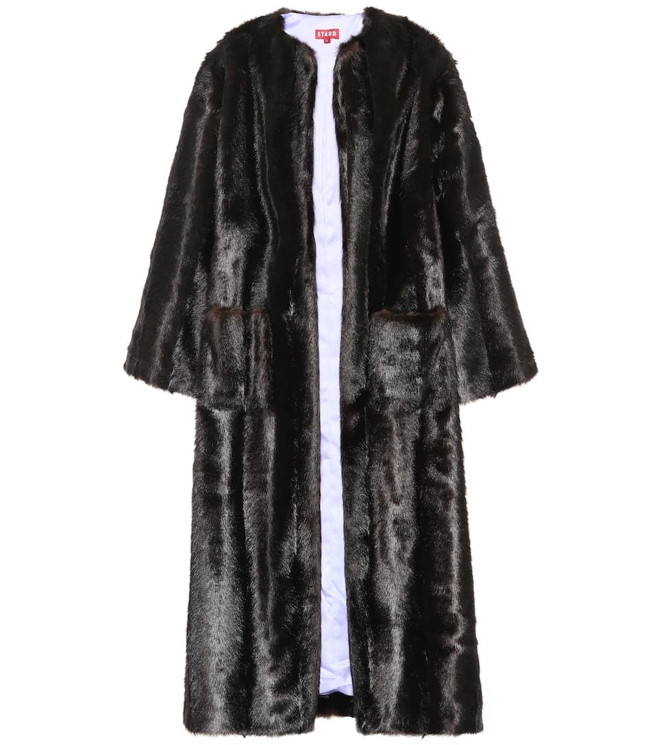 Marcel Faux Fur Coat by Staud