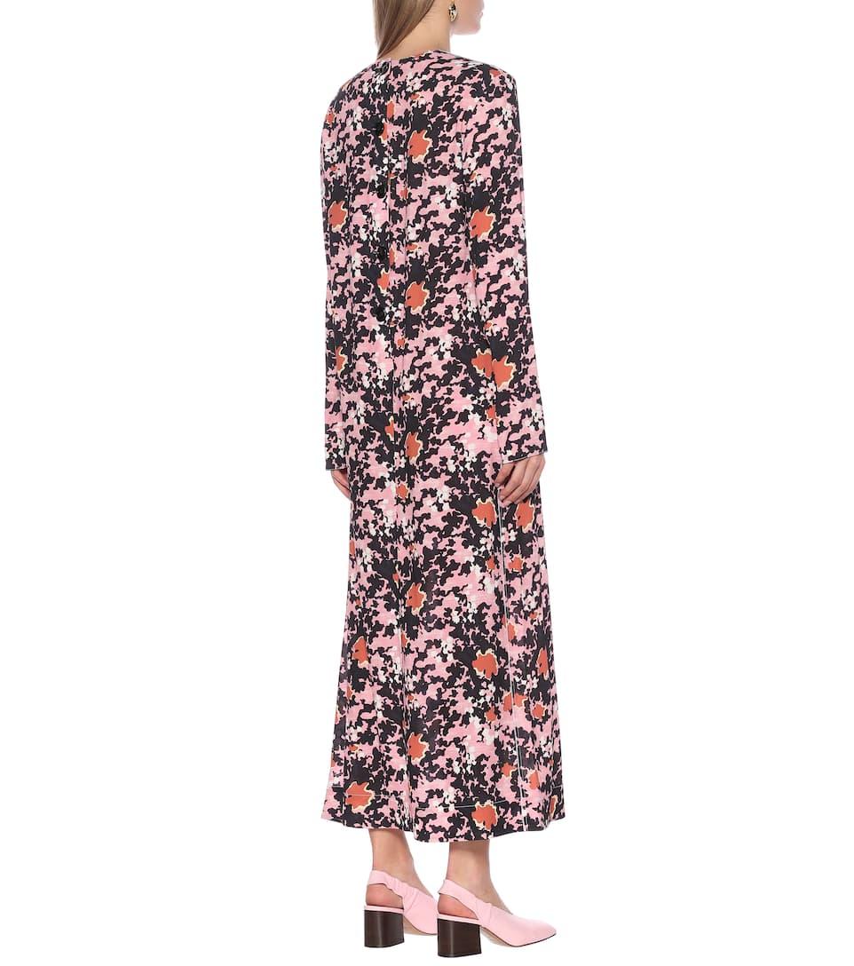 Marni - Floral midi dress