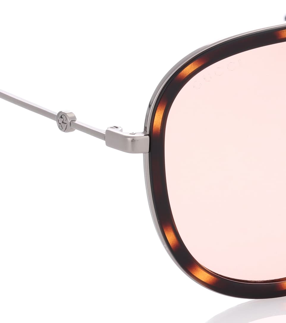 42a4f839b4c Exclusive To www.ville-lemuy.fr — Aviator Sunglasses - Gucci
