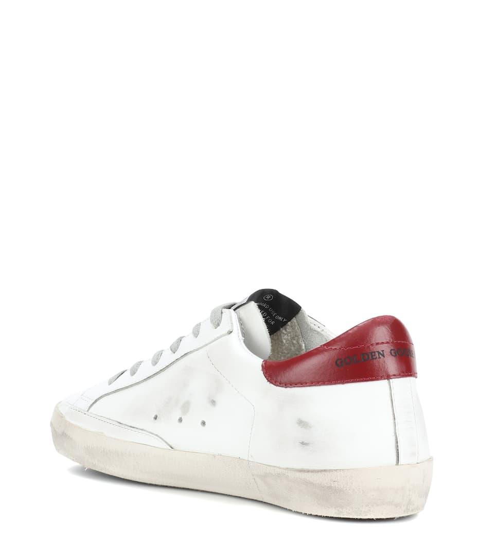 Superstar Deluxe mytheresa Goose com Exklusiv Leder aus Sneakers 鈥� Golden Brand bei wFqz1Unf