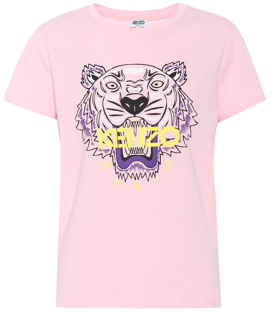 Kenzo Printed T-shirt Made Of Cotton
