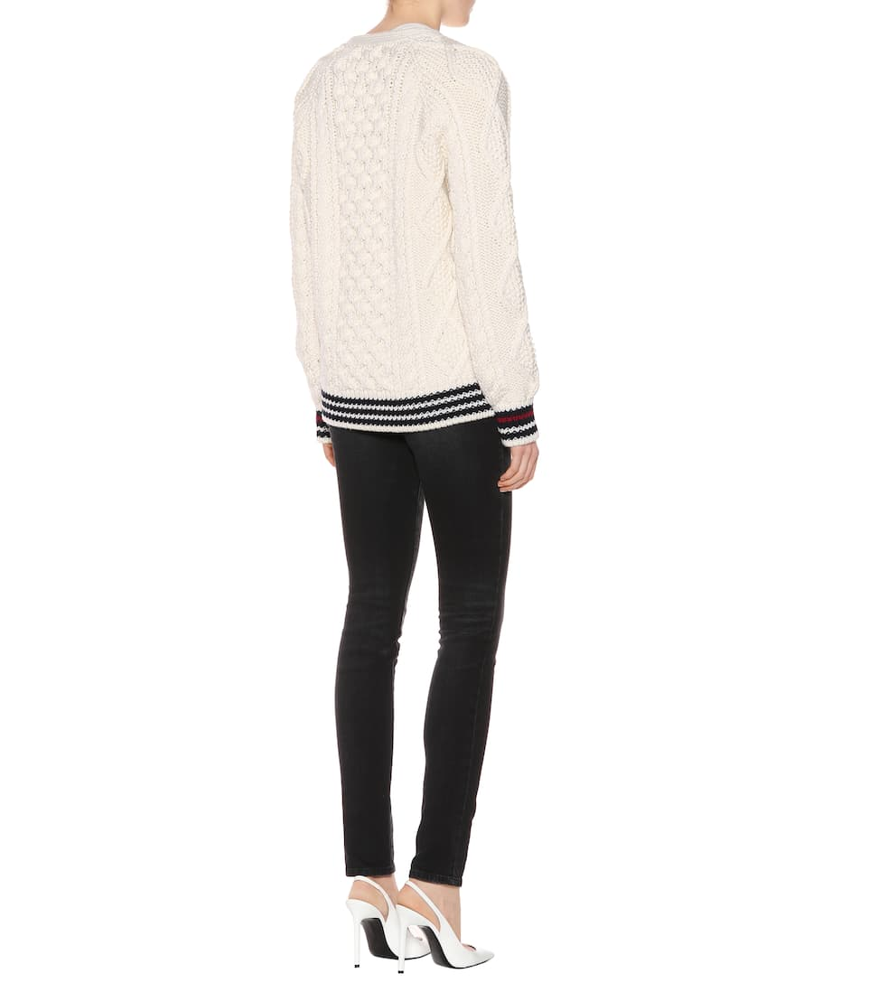 Saint Laurent Cardigan aus Wolle