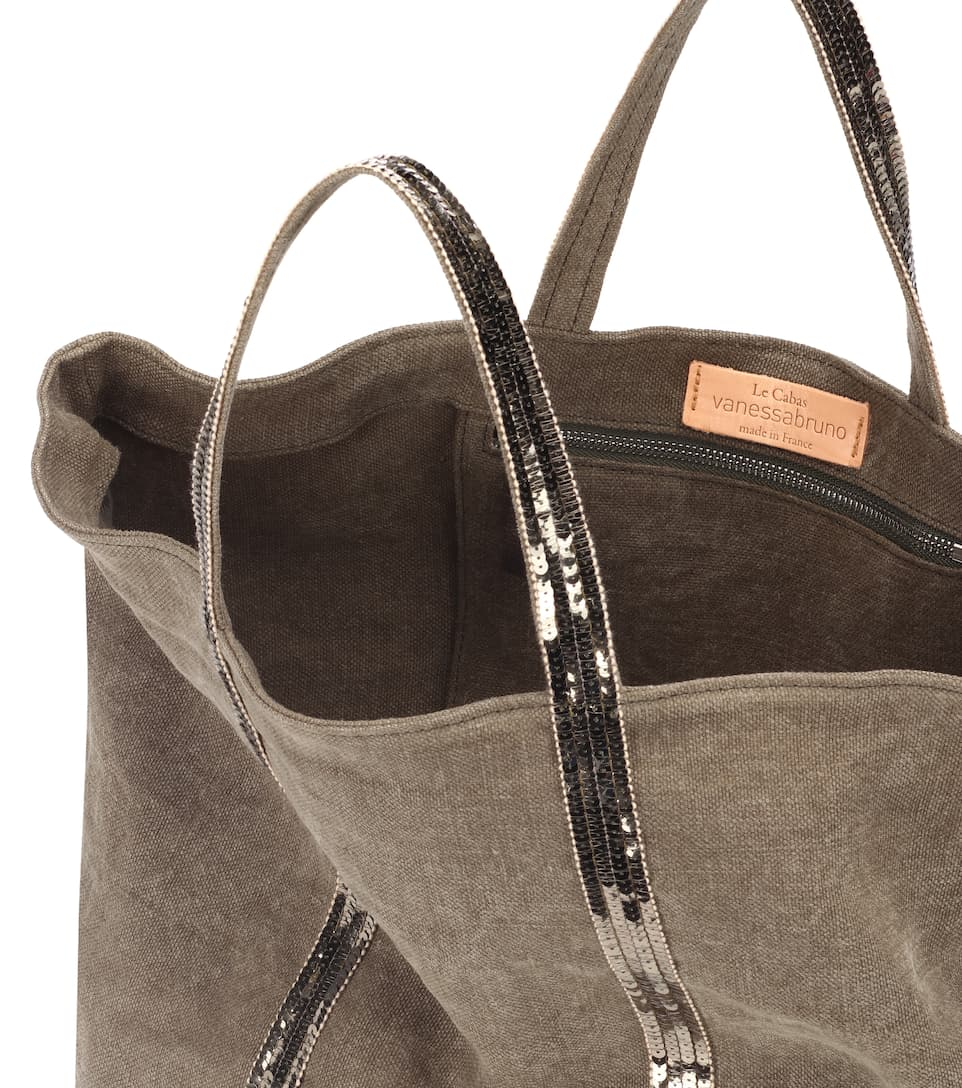 Vanessa Bruno Cabas Shopper Decorated From Canvas