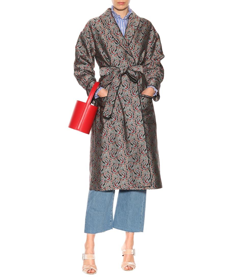 AlexaChung Mantel aus Jacquard