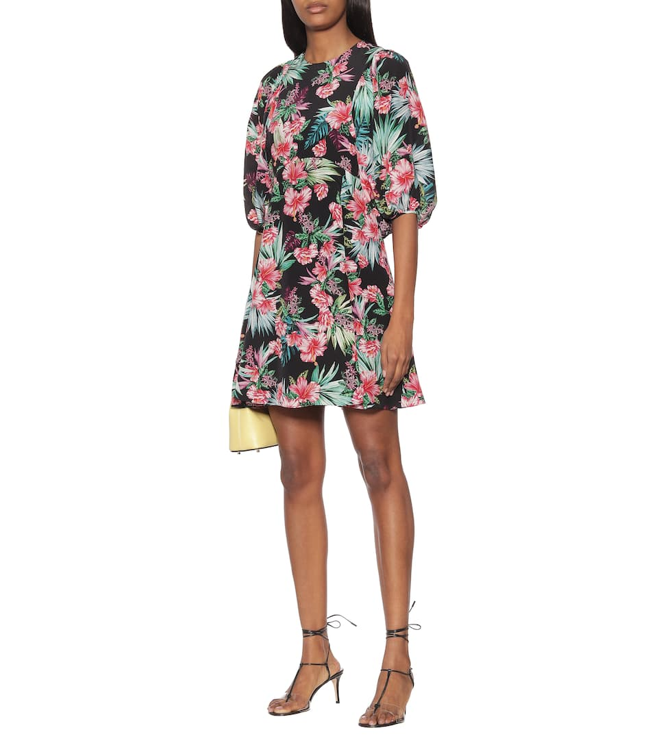 Les Rêveries - Exclusive to Mytheresa – Floral silk minidress