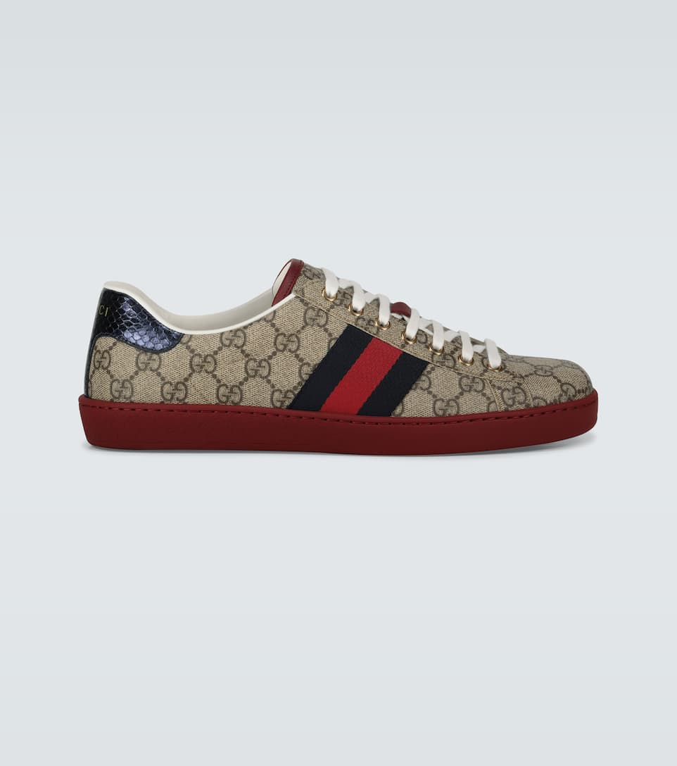 Ace Gg Supreme Sneakers - Gucci | Mytheresa