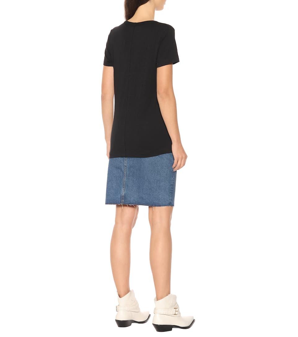 En Coton The Vee shirt Ragamp; BoneT N° Artnbsp;p00278732 Own0Pk
