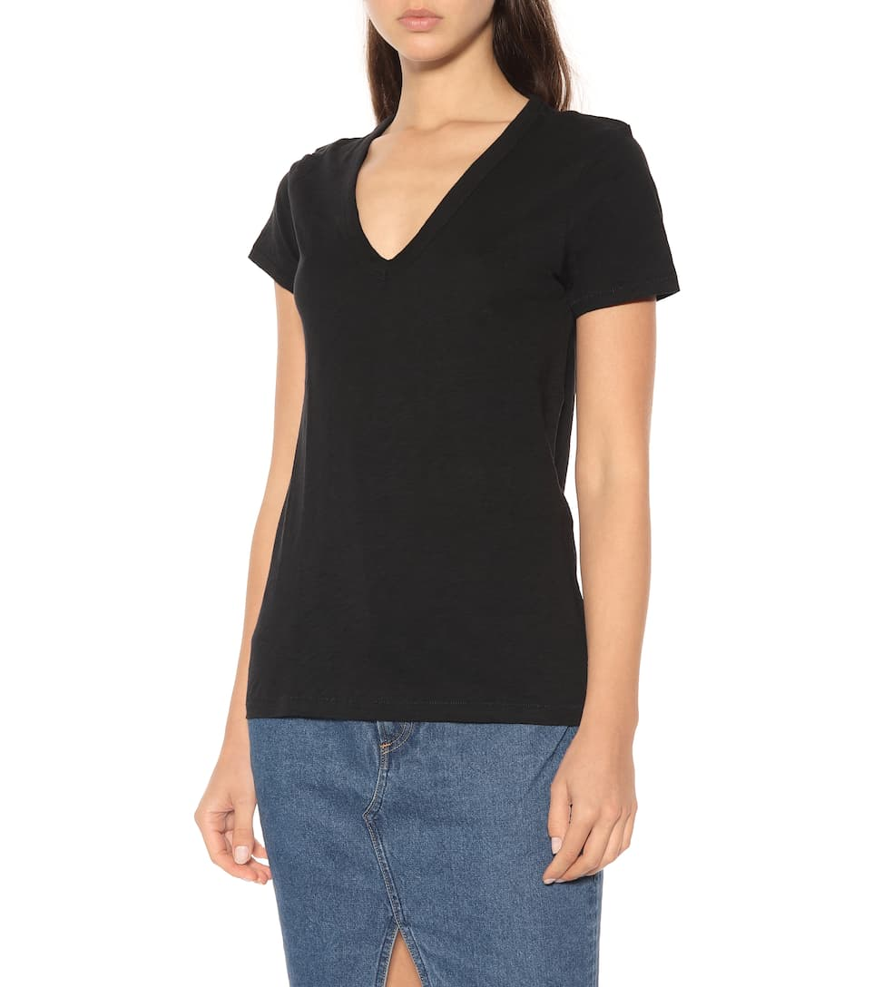 Rag & Bone T-shirt The Vee Of Cotton