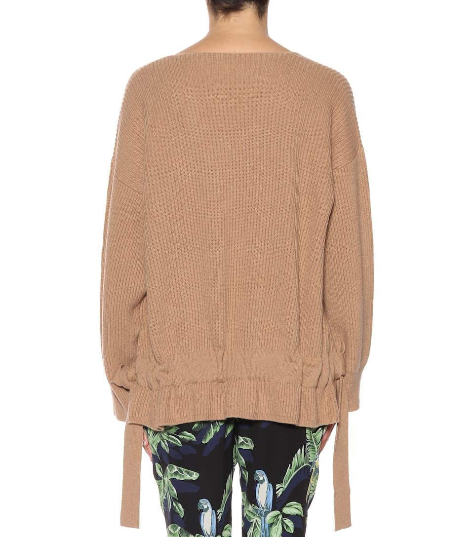 Stella McCartney Pullover aus Cashmere und Wolle
