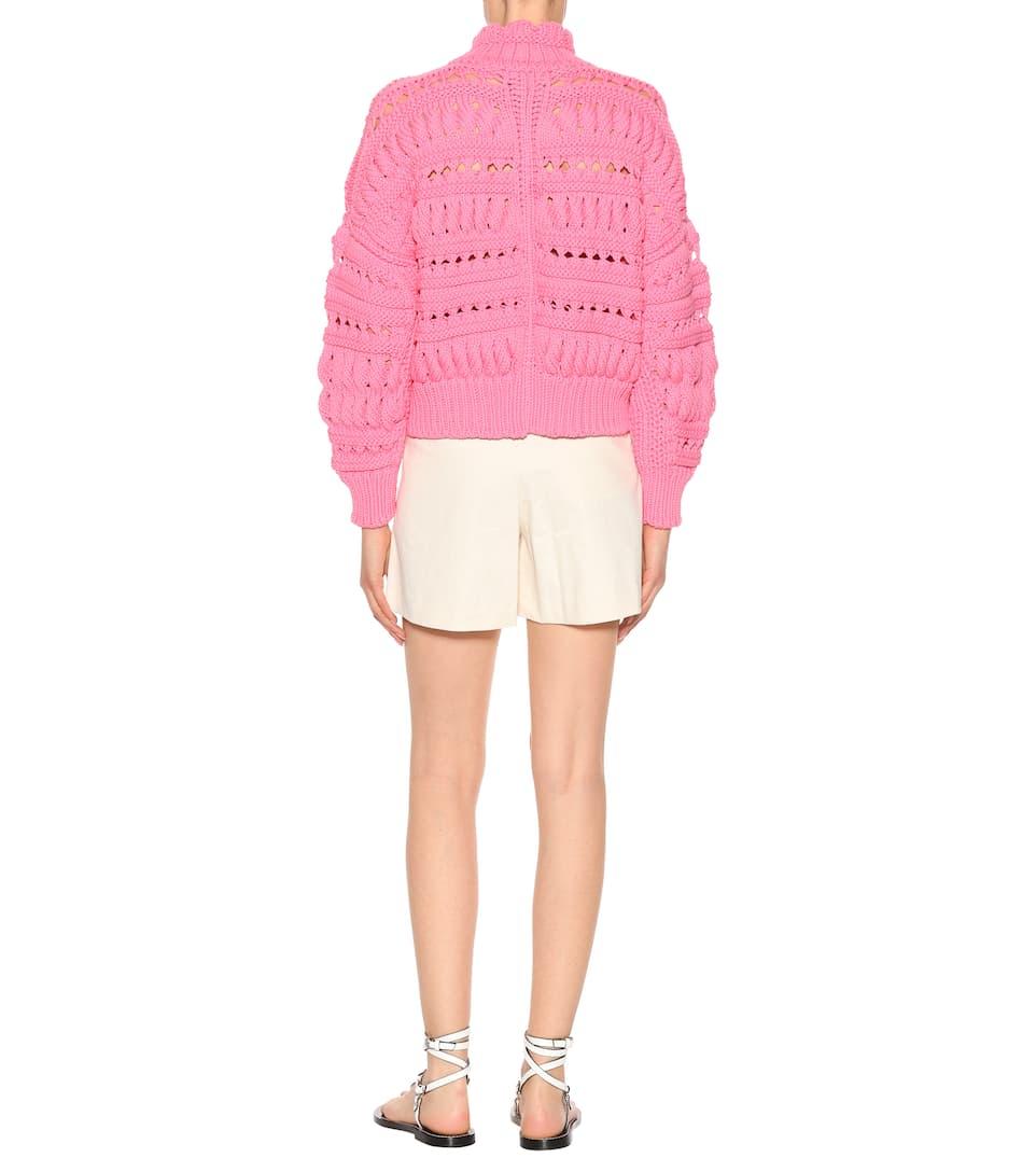 Isabel Marant Pullover aus einem Baumwollgemisch