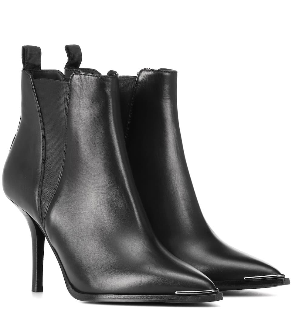 5faeed0ff4e59 Jemma Leather Ankle Boots | Acne Studios - mytheresa.com