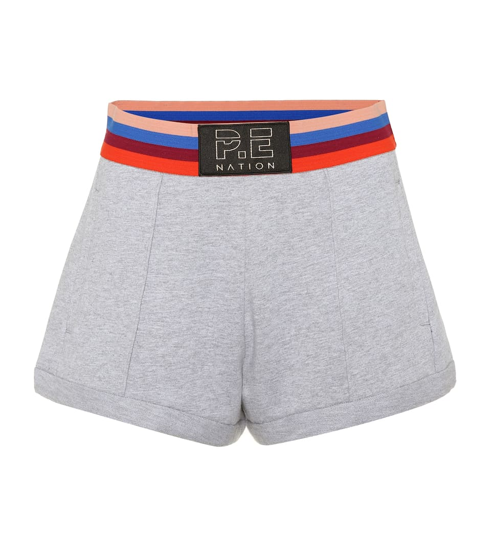 Starting Whistle Cotton Shorts by P.E Nation
