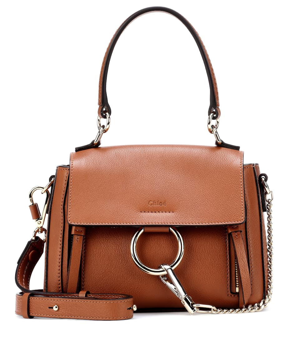 d5408a1a680 Mini Faye Day Leather Shoulder Bag - Chloé | mytheresa.com