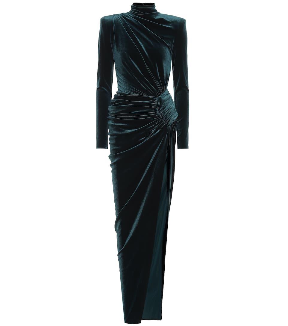 f6ad871aac Velvet maxi dress