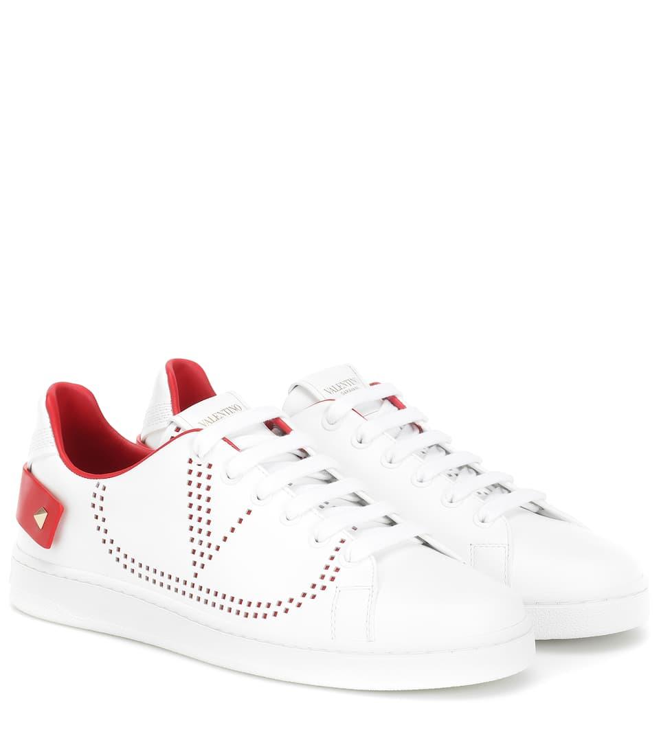 BACKNET sneakers in red - Valentino