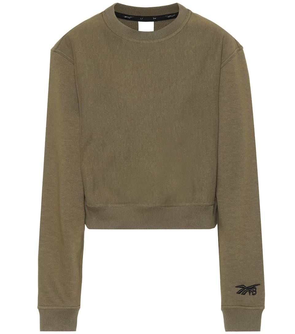 X Artnbsp;p00421236 En BeckhamSweat Reebok shirt N° Coton Victoria Raccourci ym80POvNnw