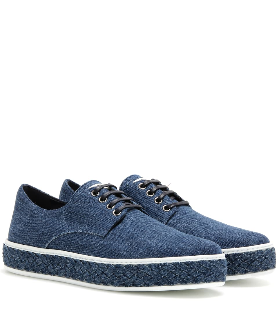 Miu Miu Sneakers aus Denim