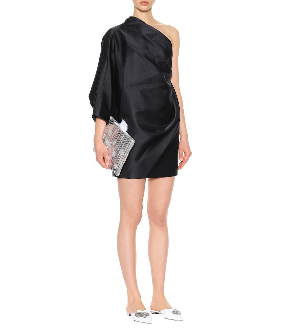 Marc Jacobs Asymmetrisches Kleid aus Satin Spielraum Angebote N3qpTK