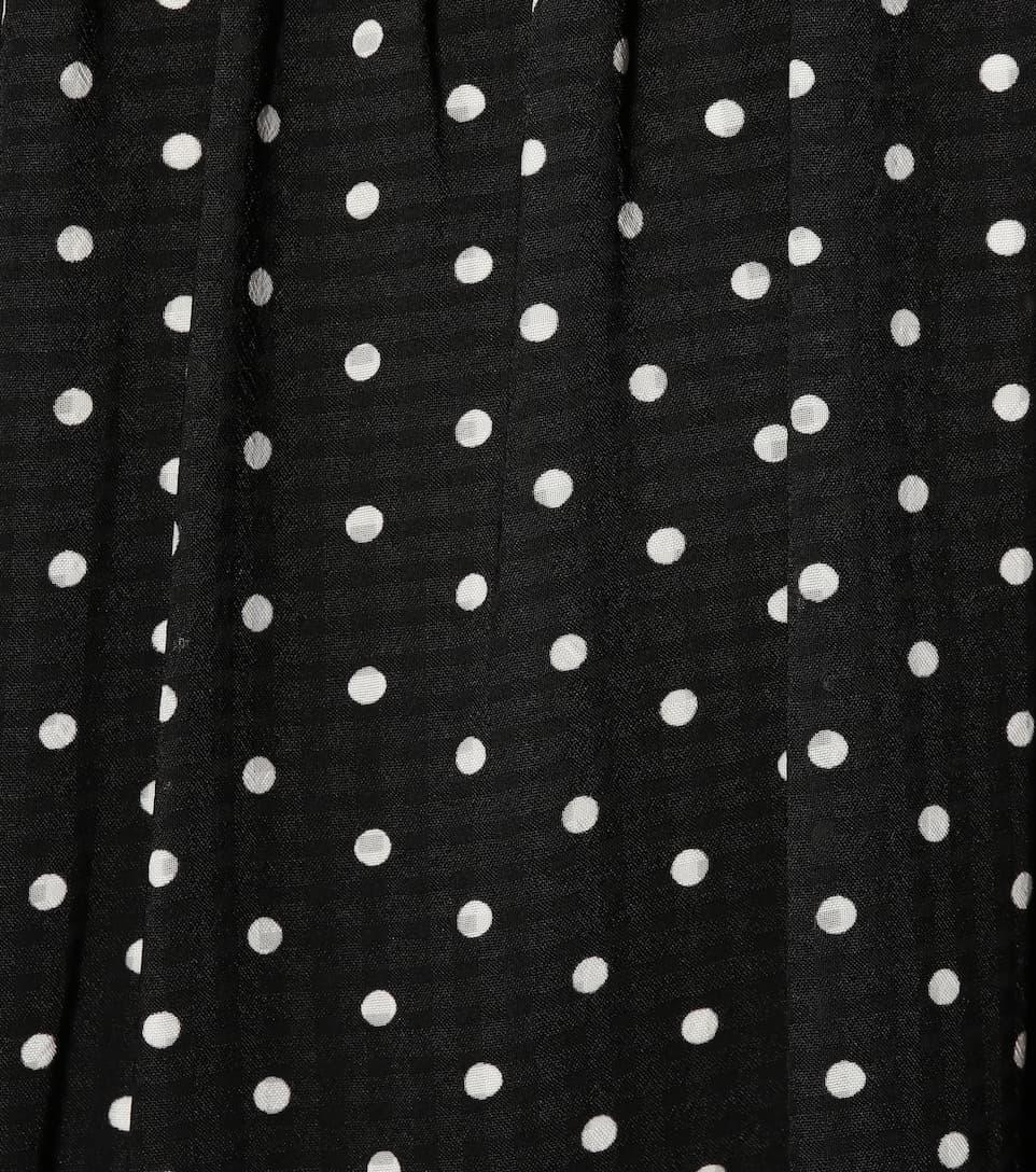 Robe Midi À Pois - AlexaChung En Ligne À Prix Abordable Fiable À Vendre Sortie 100% Authentique Livraison Gratuite En Ligne Pas Cher UDI1p