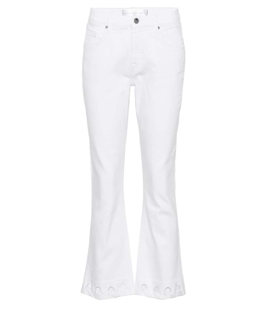 Victoria Beckham Cropped Pants Impact Of Cotton