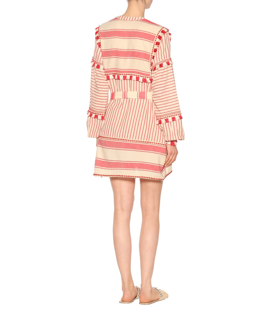 Dodo Bar Or Besticktes Kleid aus Baumwolle
