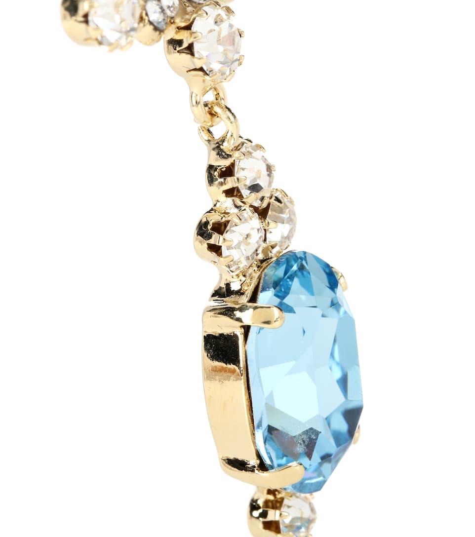Vente Magasin D'usine Prendre Plaisir Dolce & Gabbana - Boucles d'oreilles clip à cristaux eCKMOHWI