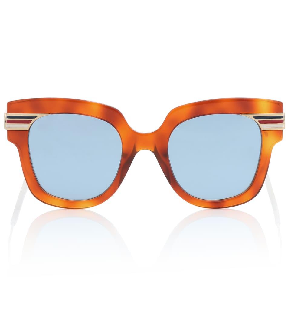 Sonnenbrille Mit Quadratischem Rahmen - Gucci | mytheresa.com