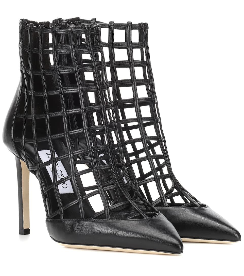 7cc3aa3485c5 Jimmy Choo - Sheldon 100 leather ankle boots