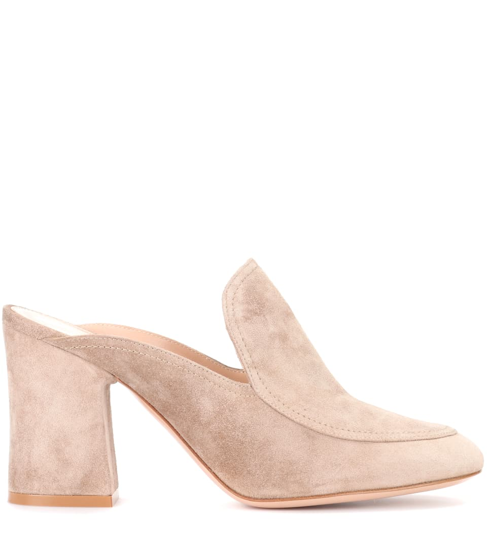 Exclusive to mytheresa.com - suede mules Gianvito Rossi KPg191MzO