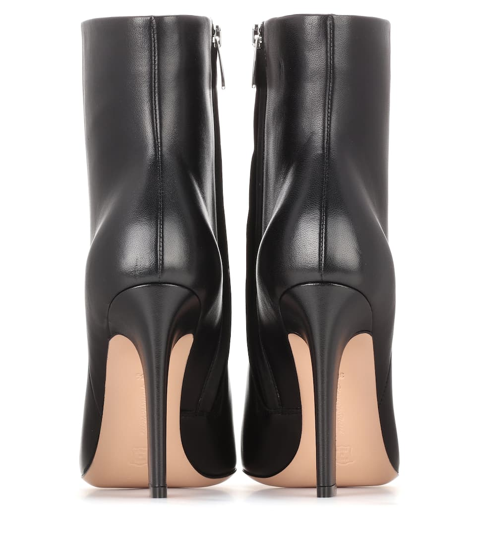 Gianvito Rossi Ankle Boots Daryl aus Glattleder