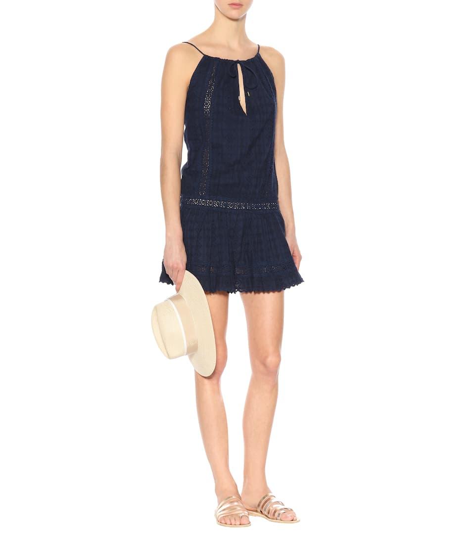 Melissa Odabash Besticktes Kleid Chelsea aus Baumwolle