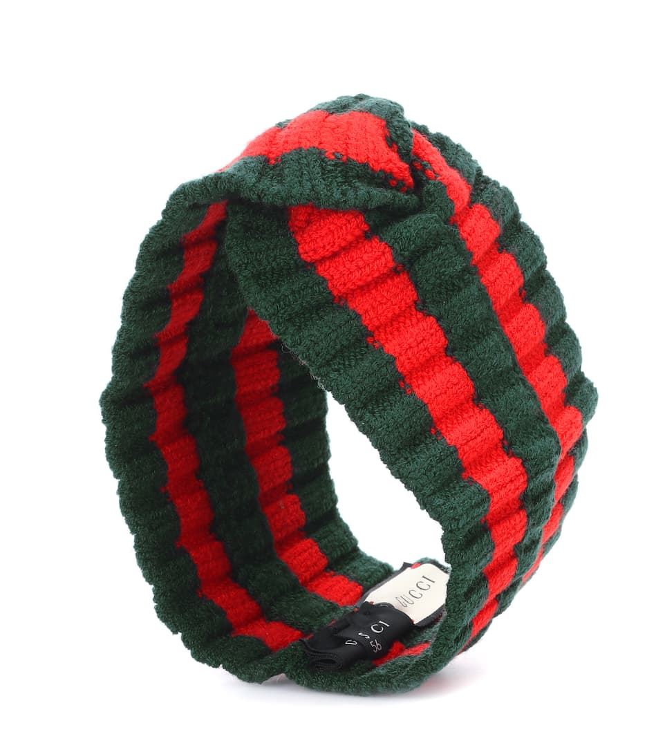 d457556a2a3 Striped Wool-Blend Headband