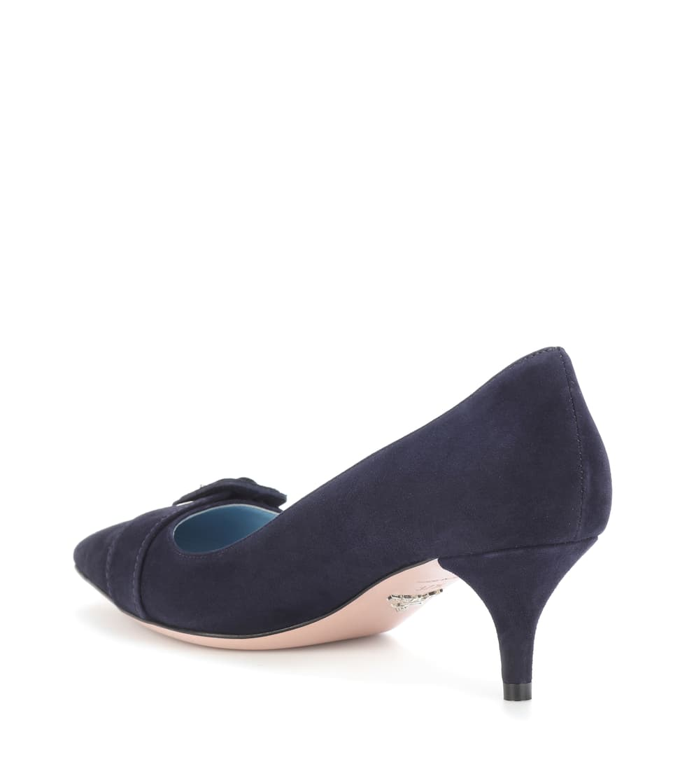 Prada Pumps aus Veloursleder