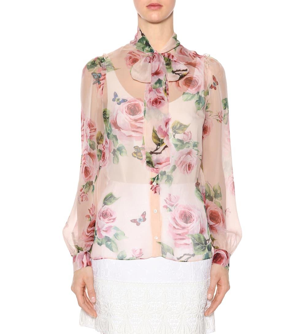 Dolce & Gabbana Blouse In Silk